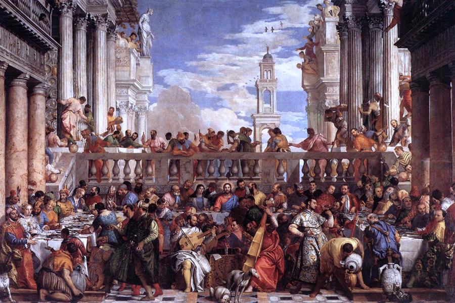 Les Noces de Cana, par Véronèse