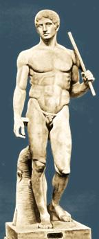 Le Doryphore, modèle attibué à Polyclète