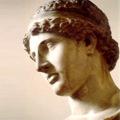 Tête d'Athéna du musée de Dresde