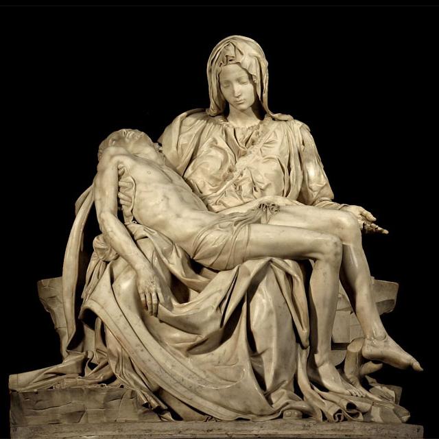 La première Pietà de Michel-Ange