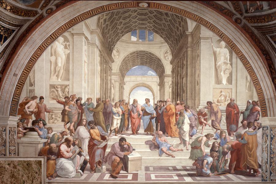 L'Ecole d'Athènes, par Raffaello Sanzio
