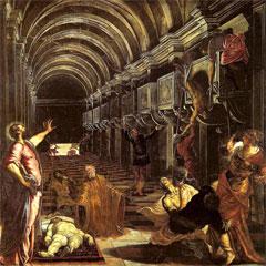 La Découverte du corps de Saint Marc, par Le Tintoret