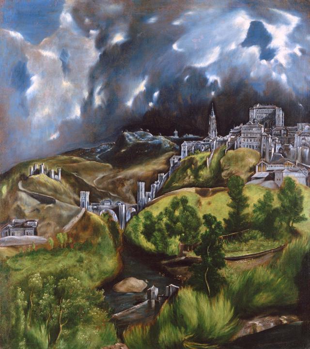 Vue de Tolède, par El Greco
