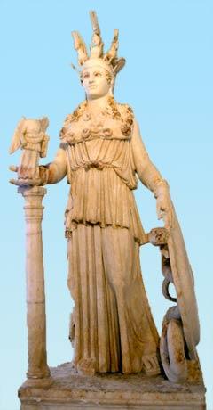 Une miniature de l'Athena du Parthénon ?