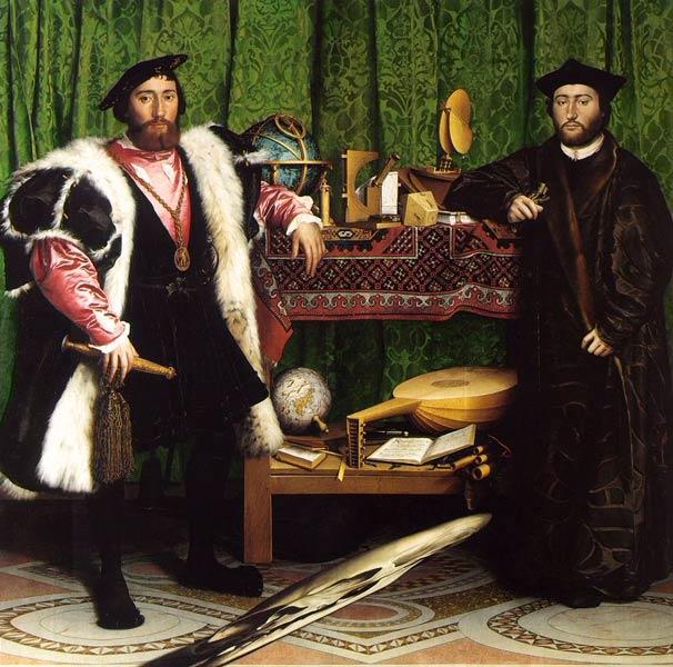 Les Ambassadeurs, par Hans Holbein
