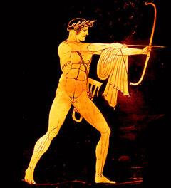 Apollon, d'après un vase antique
