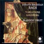 Les Variations Goldberg par Blandine Verlet