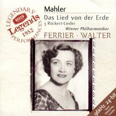 L'enregistrement de 1952 du Chant de la Terre par Bruno Walter avec Kathleen Ferrier