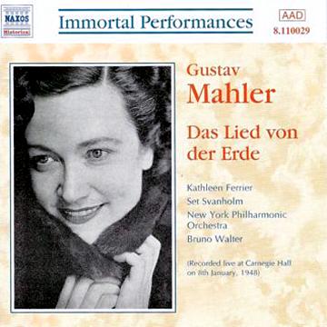 La version de 1948 du Chant de la Terre avec Ferrier et Walter