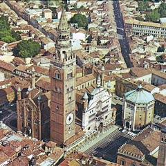 Le centre historique de Crémone