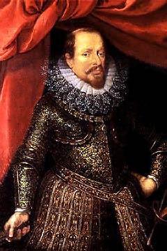 Le duc de Mantoue, Vincenzo Gonzaga, par Pourbus