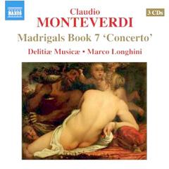 Le septième livre par les voix masculines de l'ensemble Delitiae Musicae