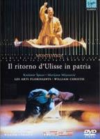 Il Ritorno d'Ulisse in patria en DVD, par Christie