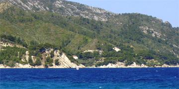 Paysage de l'île de Samos