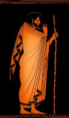 Ulysse d'après une amphore antique