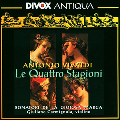 Les Quatre Saisons par les Sonatori et Giuliano Carmignola