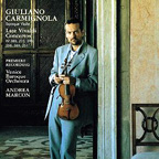 Giuliano Carmignola - 3e album pour Sony