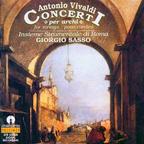 Le premier album Vivaldi de l'Insieme Strumentale di Roma