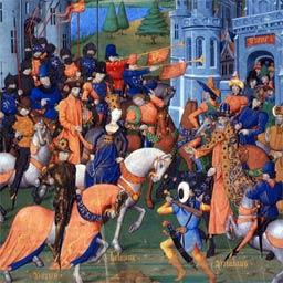 Une vision médiévale d'Hélène