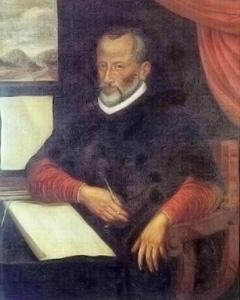 Le compositeur Giovanni Pierluigi Palestrina (1525 ou 1526 - 1594)