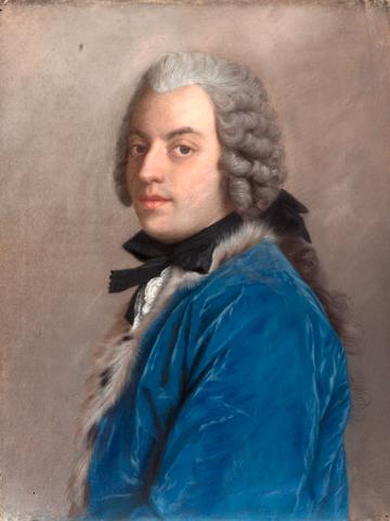 Portrait du comte Francesco Algarotti par Liotard (1745)