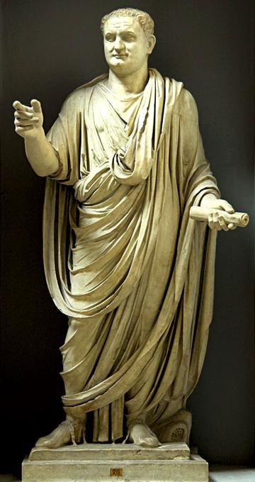 Titus Vespasien, empereur de Rome de 79 à 81 après J.-C.