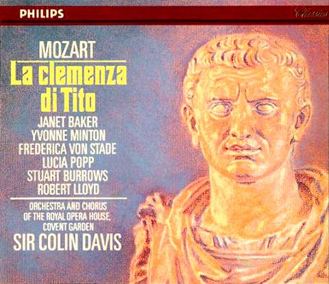 La Clemenza di Tito officielle de Colin Davis