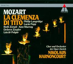 La Clemenza di Tito par Harnoncourt