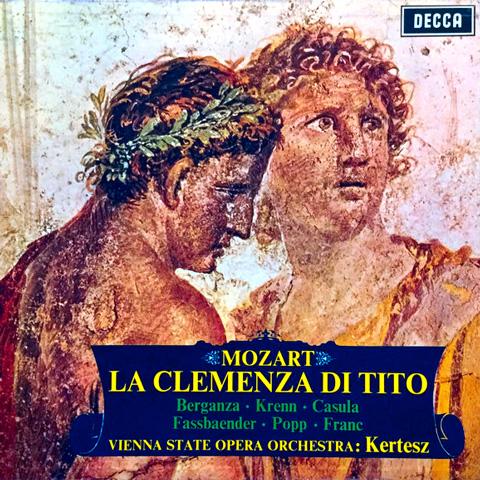 La Clemenza di Tito dirigée par Istvan Kertész